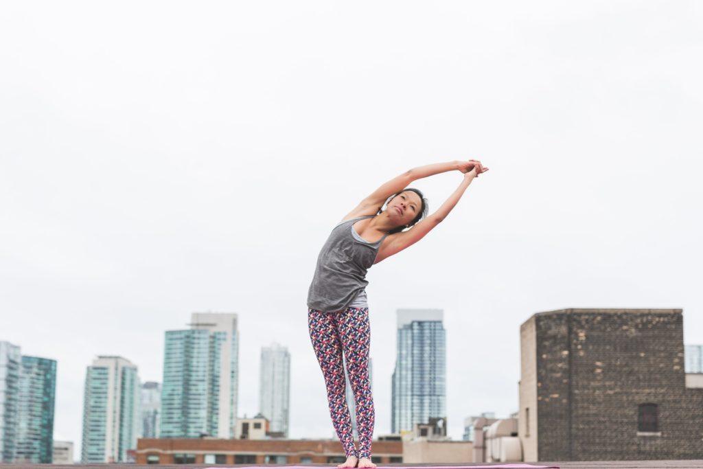 Yoga i byen